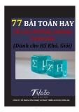 Hướng dẫn giải 77 bài toán hay về các đường trong tam giác