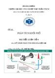 Bài tiểu luận: Phân tích khối phổ