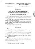 Quyết định số: 4352/QĐ-BGTVT
