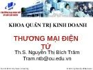 Bài giảng Thương mại điện tử - ThS. Nguyễn Thị Bích Trâm