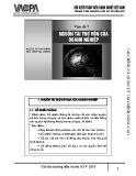 Bài giảng Tài chính và quản lý tài chính nâng cao: Vấn đề 7 - PGS.TS. Vũ Văn Ninh