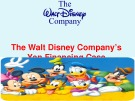 The Walt Disney Company's Yen Financing Case