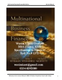 Ebook Multinational Business Finance 10th Edition