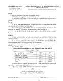 Đề thi chọn học sinh giỏi lớp 9 cấp tỉnh Vĩnh Phúc có đáp án môn: Địa lí (Năm học 2012-2013)