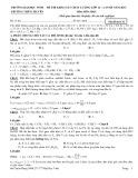 Lời giải chi tiết đề thi khảo sát chất lượng lớp 12, lần 3, năm 2013 môn: Hóa học  - Mã đề thi 132