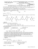 Lời giải chi tiết đề thi khảo sát chất lượng lớp 12, lần 1, năm 2014 môn: Hóa học, khối A, B - Mã đề thi 359