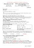 Đề thi tuyển sinh đại học năm 2013 môn: Hoá học, khối B - Mã đề thi 537 (Giải chi tiết nhất từng câu đề khối B năm 2013 với nhiều cách giải khác nhau)