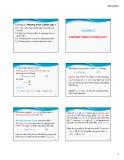 Bài giảng Toán cao cấp A5 - Chương 3: Phương trình vi phân cấp 1