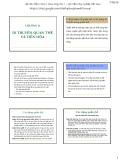 Bài giảng Di truyền thực vật đại cương: Chương 13 - Phạm Thị Ngọc