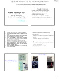 Bài giảng Tế bào học thực vật: Chương 1+2 - Phạm Thị Ngọc