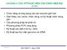 Bài giảng Công nghệ sinh học đại cương: Chương 2 - ThS. Ninh Thị Thảo