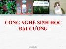 Bài giảng Công nghệ sinh học đại cương: Chương 1 - ThS. Ninh Thị Thảo