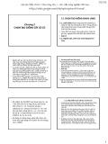 Bài giảng Chọn giống cây trồng ngắn ngày - Chương 5: Chọn tạo giống cây có củ