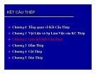 Bài giảng Kết cấu thép: Chương 2 - ThS. Cao Tấn Ngọc Thân