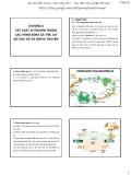 Bài giảng Di truyền thực vật đại cương: Chương 3 - Phạm Thị Ngọc
