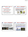 Bài giảng Chỉ thị sinh học môi trường: Muỗi lắc – giun ít tơ - GS.TS. Nguyễn Thế Nhã
