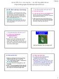 Bài giảng Côn trùng đại cương 1 - Chương 3: Sinh vật học côn trùng