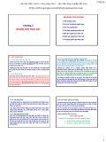 Bài giảng môn học Nguyên lý và phương pháp chọn giống cây trồng: Chương 2 - TS. Trần Văn Quang