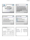 Bài giảng môn học Kế toán tài chính - Chương 5: Kế toán các khoản đầu tư tài chính