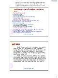 Bài giảng Hóa đại cương: Chương 3 - Nguyễn Kiên