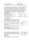 Đề thi học sinh giỏi lớp 9 có đáp án môn: Vật lý - Trường THCS Xuân Dương (Năm học 2014-2015)