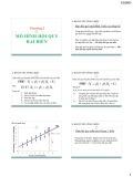 Bài giảng Kinh tế lượng: Chương 2 - ThS.Trần Thị Tuấn Anh
