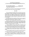 Bài thu hoạch chuyên đề 14: Kỹ năng phân công và phối hợp trong hoạt động công vụ