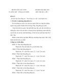Đề kiểm tra học kì 2 môn: Thể dục 8 - Trường THCS Đức Ninh