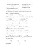 Đề kiểm tra học kỳ 2 môn: Toán 8 – Đề số 1