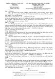Đề thi chọn học sinh giỏi cấp huyện Việt Yên có đáp án môn: Vật lí 8 (Năm học 2014-2015)