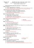 28 đề kiểm tra trắc nghiệm khách quan có đáp án môn: Giáo dục công dân - Lớp 8