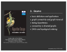 Lecture Algorithm design - Chapter 3: Graphs