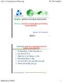 Bài giảng Quản lý và sử dụng năng lượng: Chương 2 - ThS. Trần Công Binh