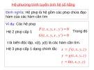 Bài giảng môn Giải tích 1 - Chương 3: Đạo hàm và vi phân (p3)