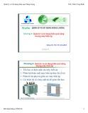 Bài giảng Quản lý và sử dụng năng lượng: Chương 4 - ThS. Trần Công Binh