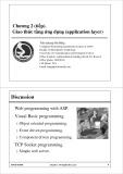 Bài giảng Mạng máy tính: Chương 2 - Nguyễn Quang Hải Bằng (tt)