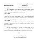 Đề thi khảo sát lần 2 có đáp án môn: Lịch sử 12 - Trường THPT Đồng Đậu
