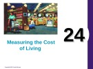 Lecture Principles of economics - Chapter 24: Measuring the cost of living