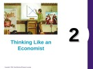 Lecture Principles of economics - Chapter 2: Thinking like an economist