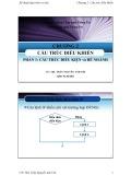 Bài giảng Kỹ thuật lập trình cơ bản (C++): Chương 2 - ThS. Trần Nguyễn Anh Chi