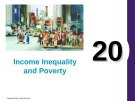 Lecture Principles of economics - Chapter 20: Income inequality and poverty