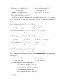 Đề kiểm tra học kỳ 2 môn: Toán 7 - Sở Giáo dục và Đào tạo Khánh Hòa (Đề số 5)