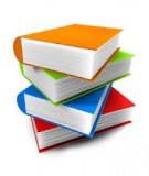 Giáo trình Dược liệu học: Tập 1 - Phần kỹ thuật chung về dược liệu