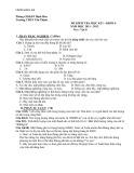 Đề kiểm tra học kỳ 1, khối 6 có đáp án môn: Địa lý - Trường THCS Tân Thịnh (Năm học 2011-2012)