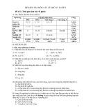 Đề kiểm tra học kỳ 2 lớp 6 môn: Vật lý - Đề số 1