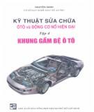 Tập 4: Khung gầm bệ ôtô - Hướng dẫn sửa chữa ôtô và động cơ nổ hiện đại: Phần 1