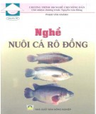 nghề nuôi cá rô đồng: phần 1