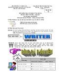 Đề kiểm tra: Tin học ứng dụng - Trường Đại học Nguyễn Tất Thành (Mã đề TH 01)