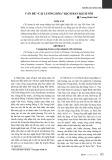 Vấn đề cải lương hóa, kịch bản, kịch nói - Vương Hoài Lâm