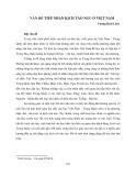 Vấn đề tiếp nhận kịch Tào Ngu ở Việt Nam - Vương Hoài Lâm
